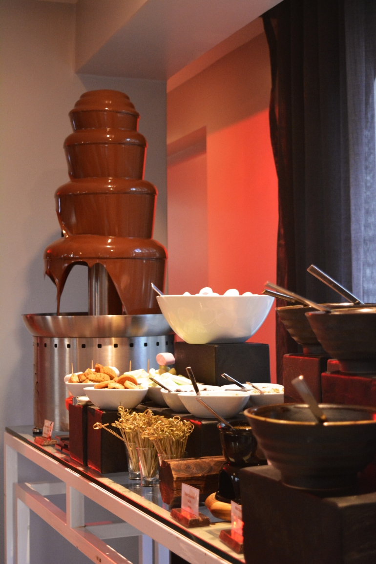 Chocolate fountain